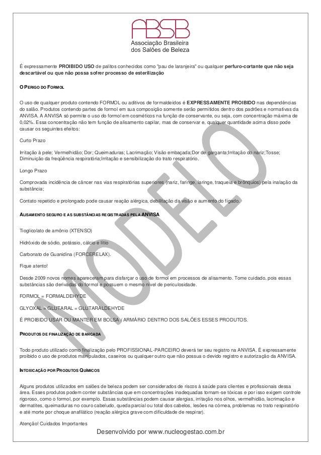 Modelo De Contrato De Parceria Absb