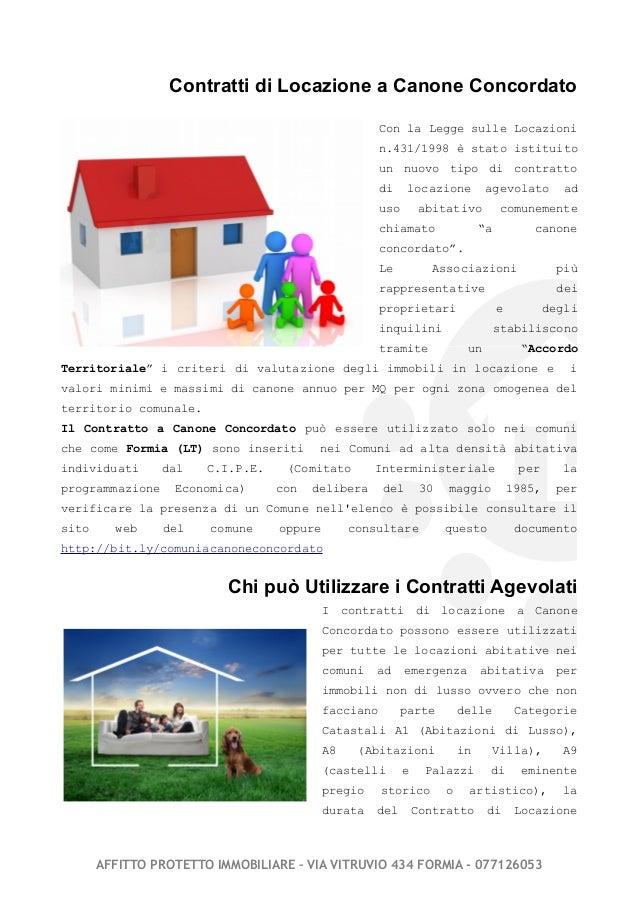 Contratti concordati by affittoprotetto - Legge sulle locazioni ...