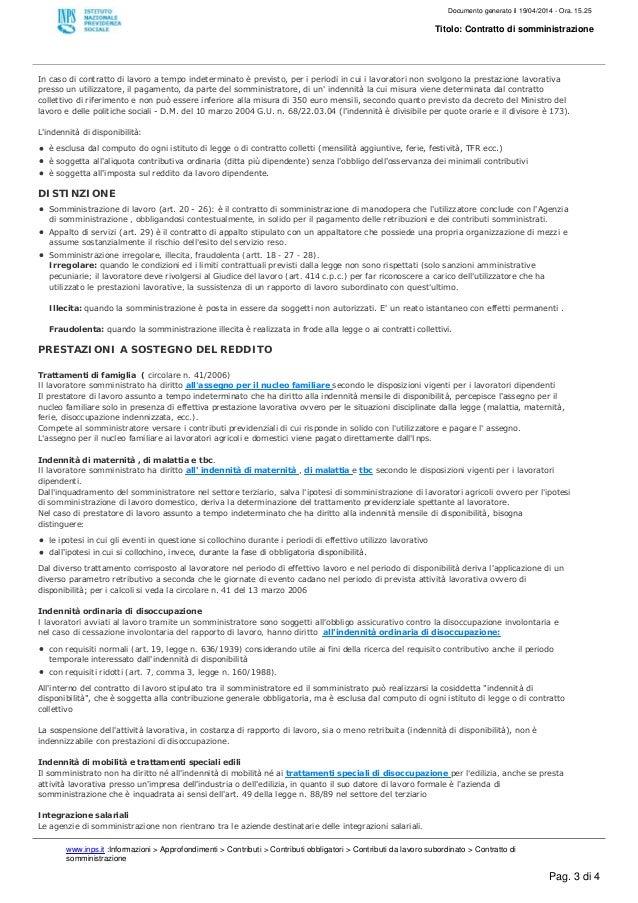 Contratto di somministrazione for Contratto 3 2