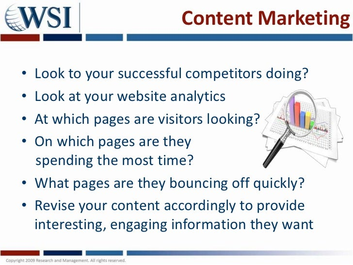 Content social  and mobile marketing Slide 3