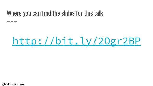 Contributing to Apache Spark 3 Slide 2