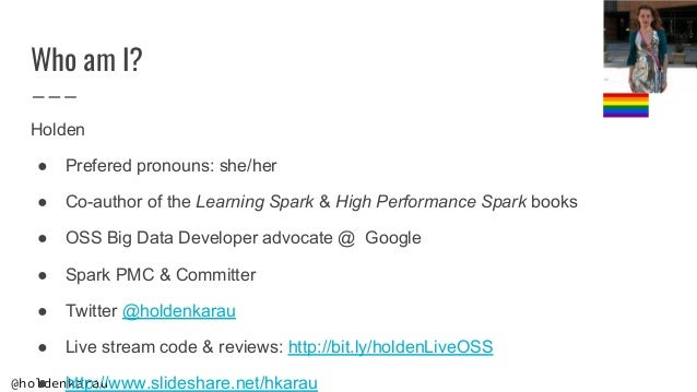 Contributing to Apache Spark 3 Slide 3