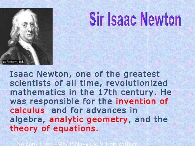 the extraordinary contributions of sir isaac newton