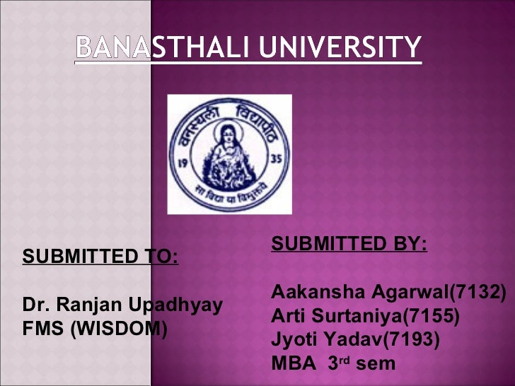 SUBMITTED BY:SUBMITTED TO:                      Aakansha Agarwal(7132)Dr. Ranjan Upadhyay                      Arti Surtan...