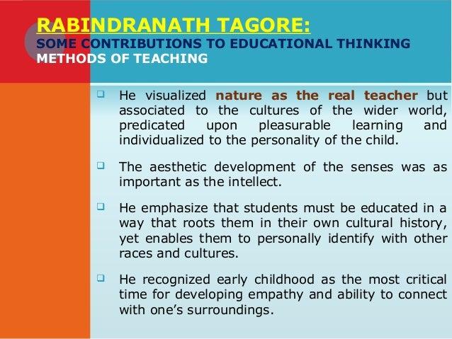 teachings of rabindranath tagore