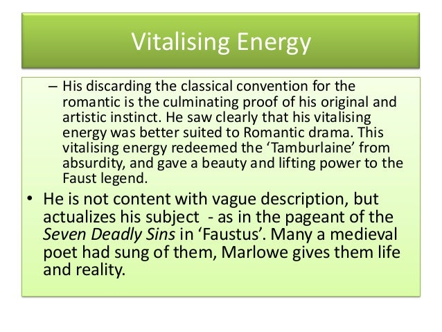 A description of the contribution of english literature by christopher marlowe