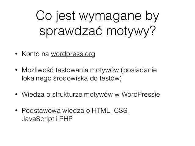 Contributor Day - WordCamp Lublin 2017 - przegląd motywów Slide 2