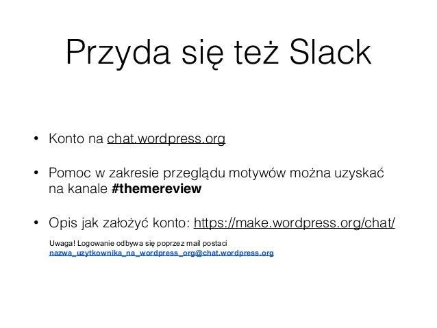 Contributor Day - WordCamp Lublin 2017 - przegląd motywów Slide 3