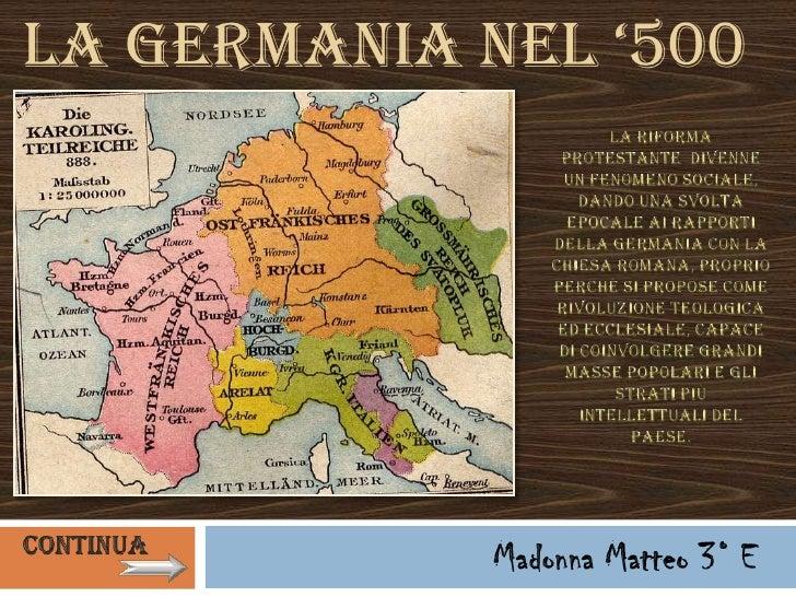 La Germania neL '500
