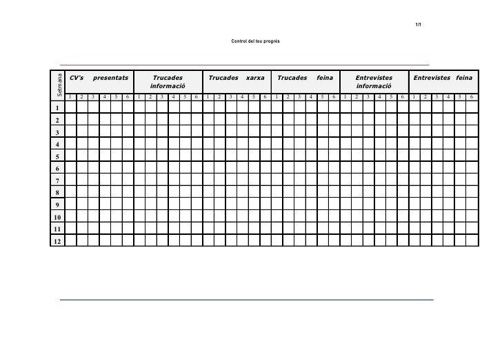 1/1                                                                  Control del teu progrès          CVs    presentats   ...