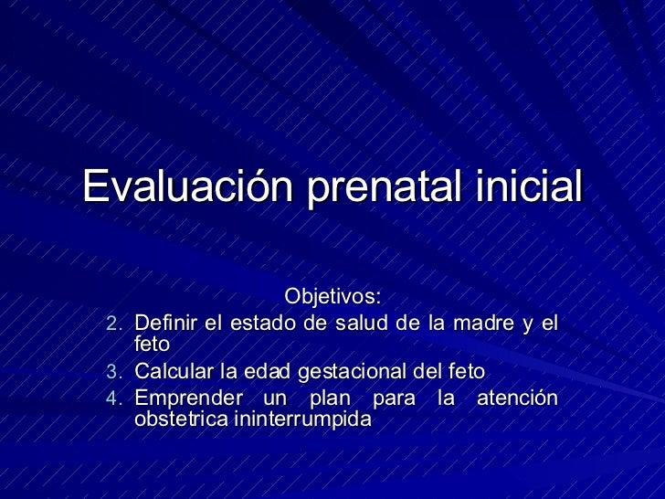 CONTROL PRENATAL Slide 3