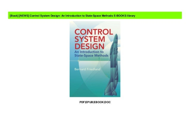 News Control System Design An Introduction To State Space Methods