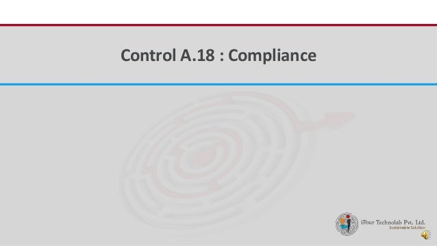 iFour ConsultancyControl A.18 : Compliance
