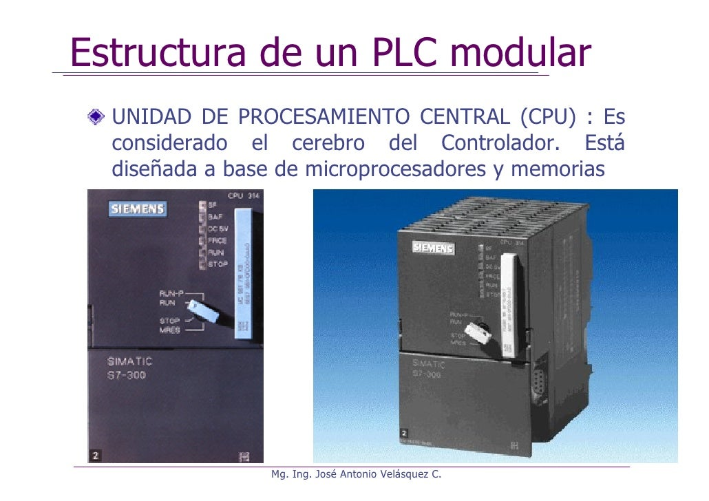 Controladores logicos programables (plc)