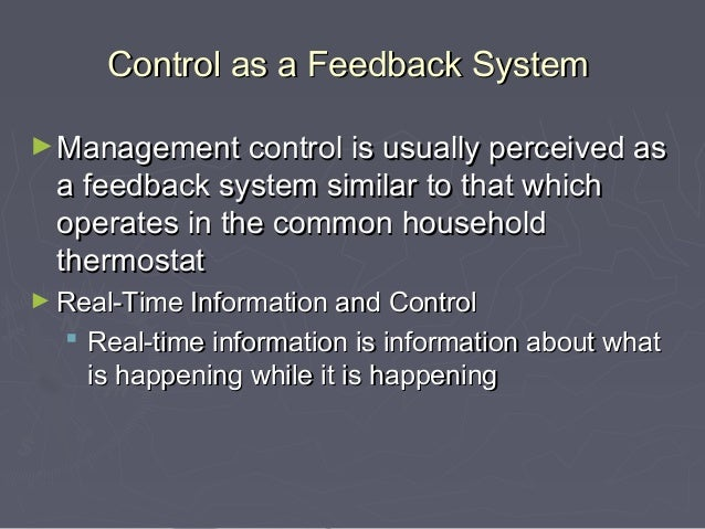 system process of controlling Help them control emerging information systems processes  2 cobit 5 divides  the traditional view of the system- development process that considers the.