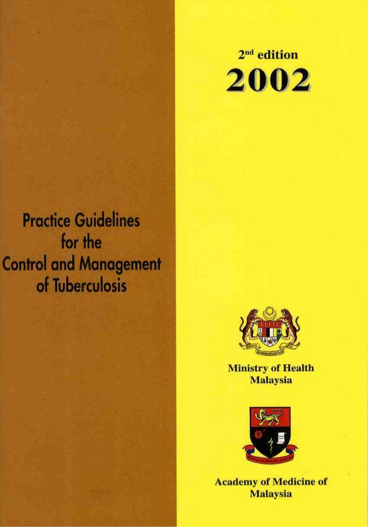 Control and management of tuberculosis by Malaysian Health Ministry