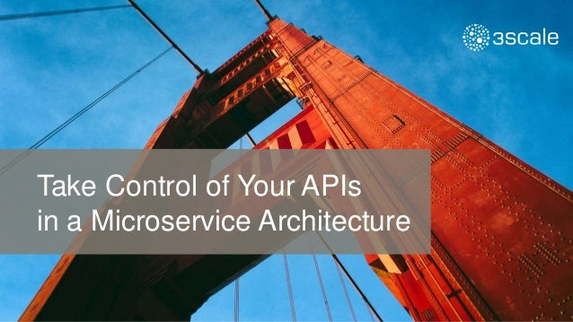 Take Control of Your APIs in a Microservice Architecture