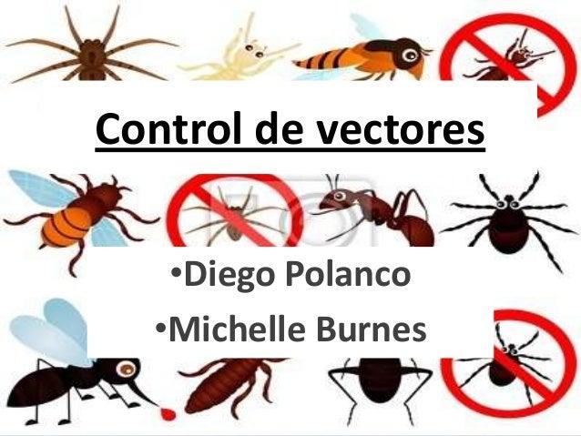 Control de vectores   •Diego Polanco  •Michelle Burnes