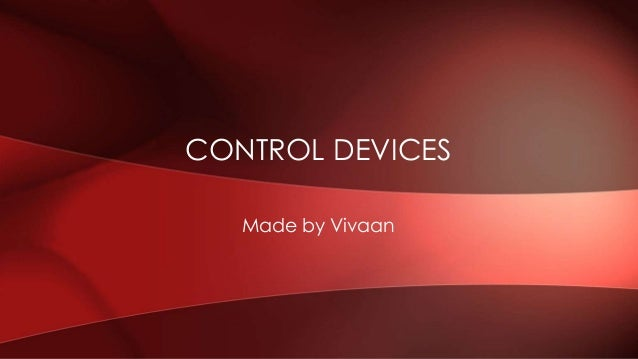 Made by Vivaan CONTROL DEVICES