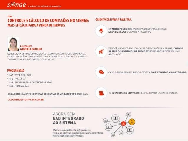 Controle e Cálculo de Comissões no Sienge: mais eficáciapara a venda de imóveis