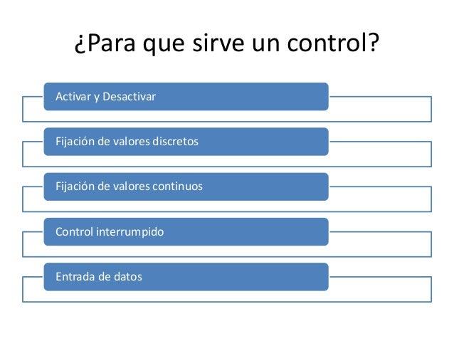 Controles Ergonom A