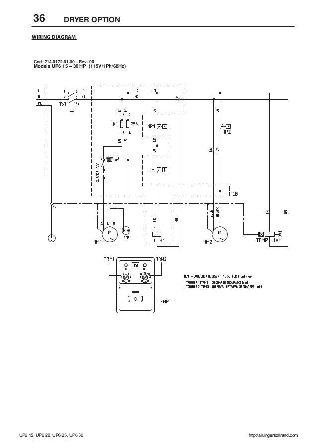 ingersoll rand 2475n7 5 wire diagram model