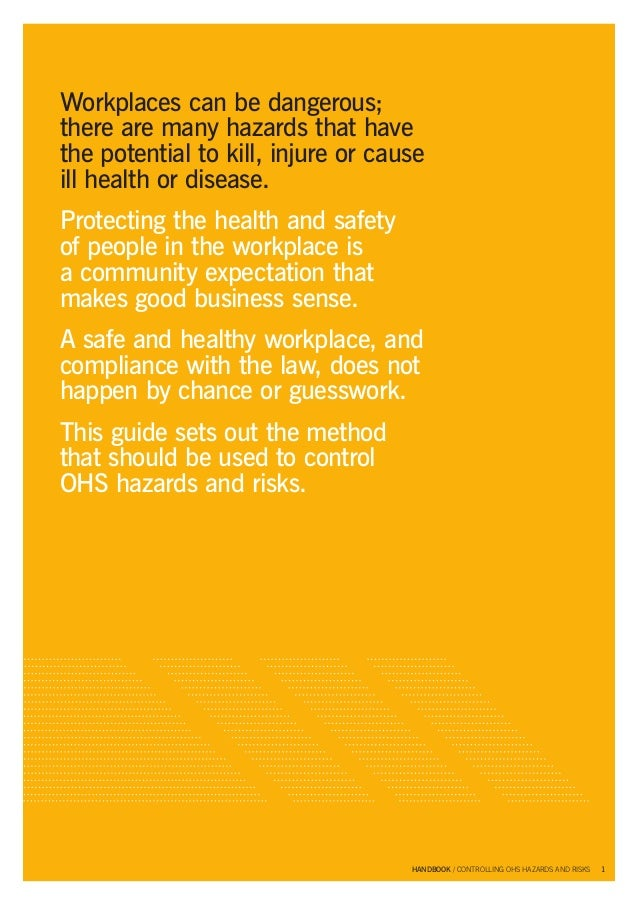 risks and hazards Risk assessment is a term used to describe the overall process or method where you: identify hazards and risk factors that have the potential to cause harm (hazard.