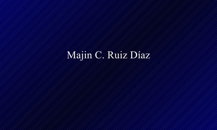 Majin C. Ruiz Díaz
