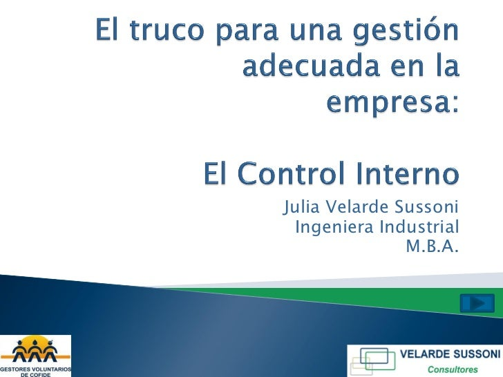 Julia Velarde Sussoni Ingeniera Industrial