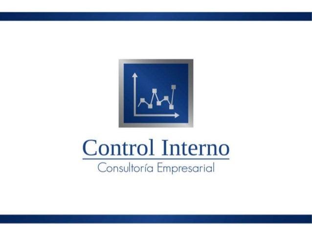 CONTROL INTERNO BASADO EN EL INFORME COSO Introducción Jorge Morales Tobar