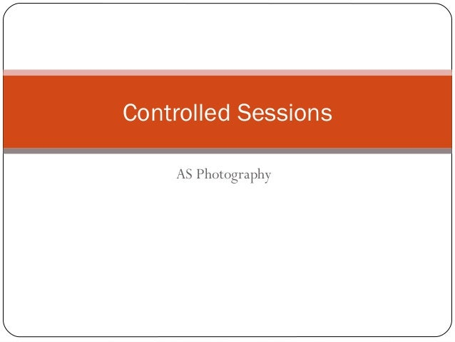 AS Photography Controlled Sessions