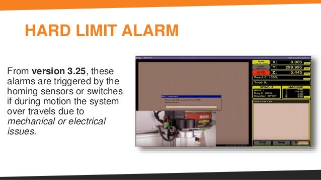 Different Types of Alarms on a CNC Machine