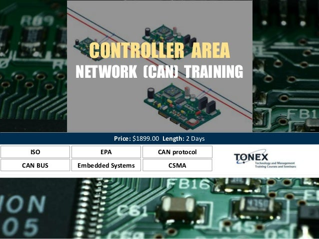 Controller Area Network (CAN) Training