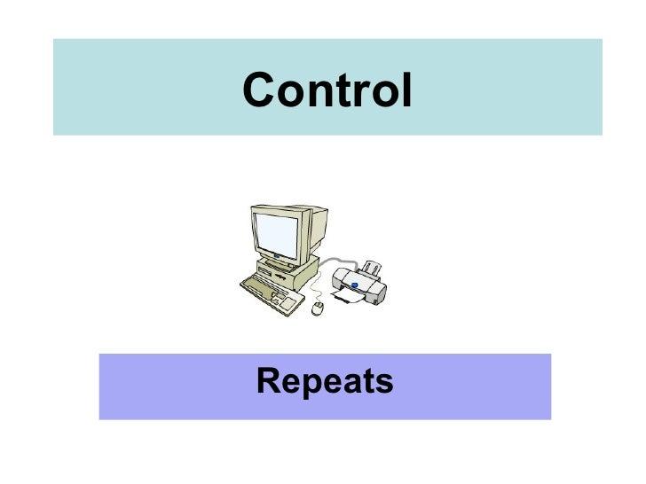 Control Repeats