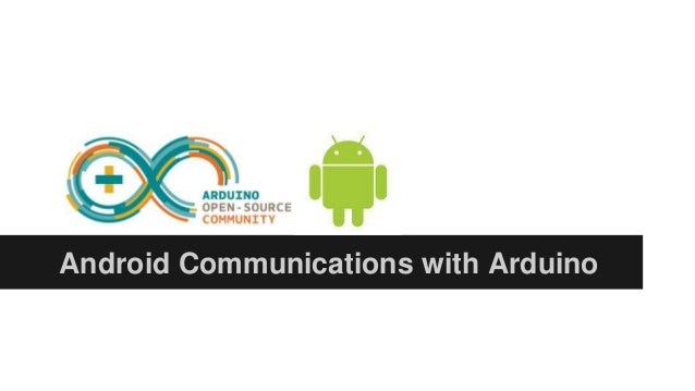 Controlling an Arduino with Android