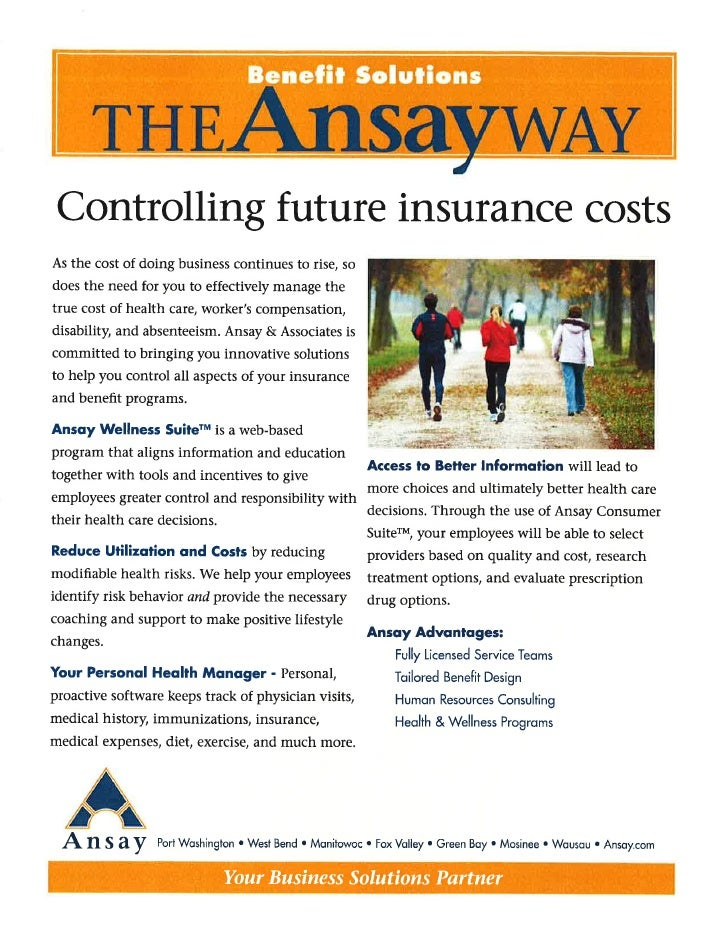 Controlling Future Insurance Costs