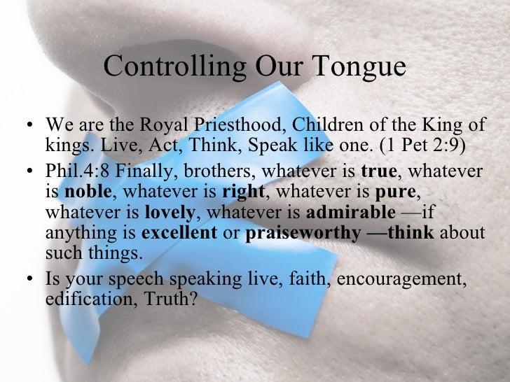 Manipulative tongue essay