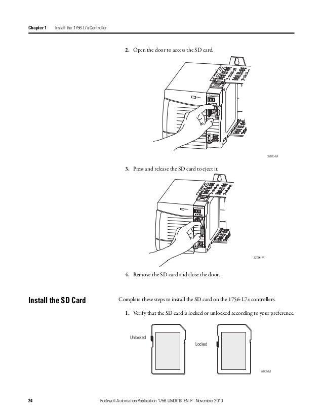 Control logix controllers user manual