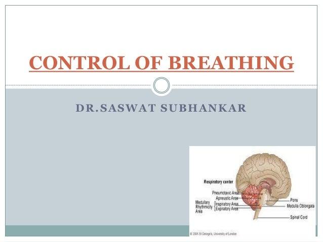 DR.SASWAT SUBHANKAR CONTROL OF BREATHING