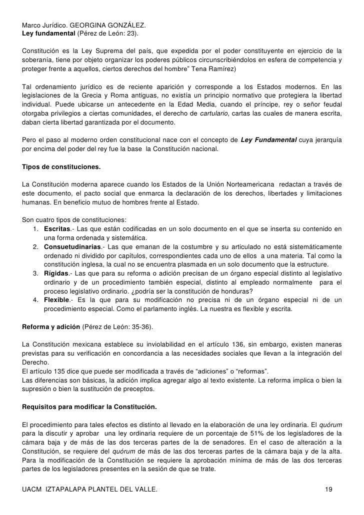 Poder Legislativo Federal. Marco Jurídico Congreso Mexicano.