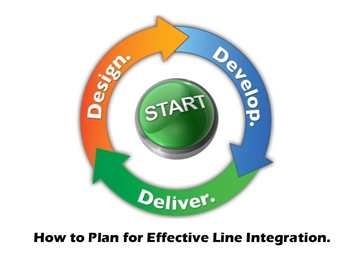 How to Plan for Effective Line Integration.