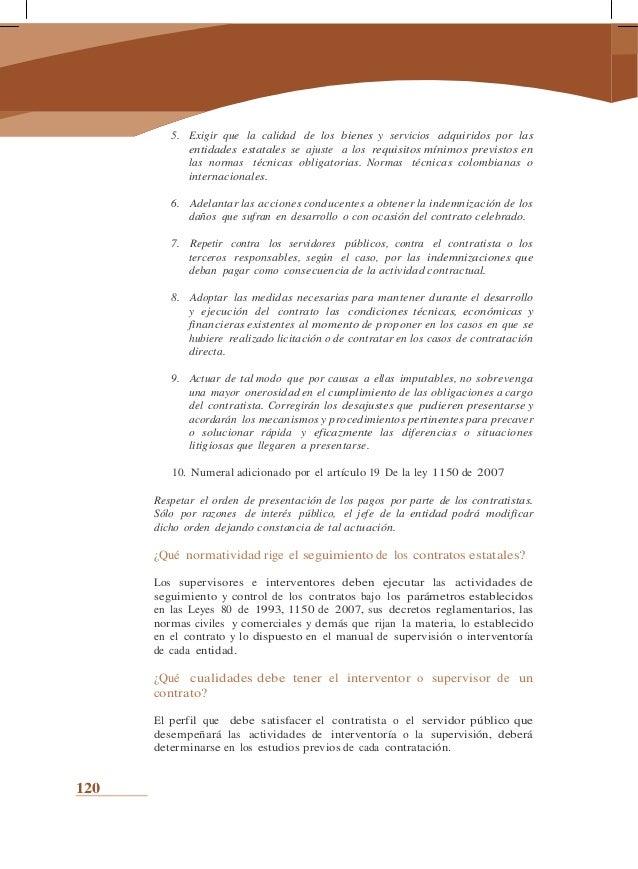 el control de la gestión contractual de las identidades publicas