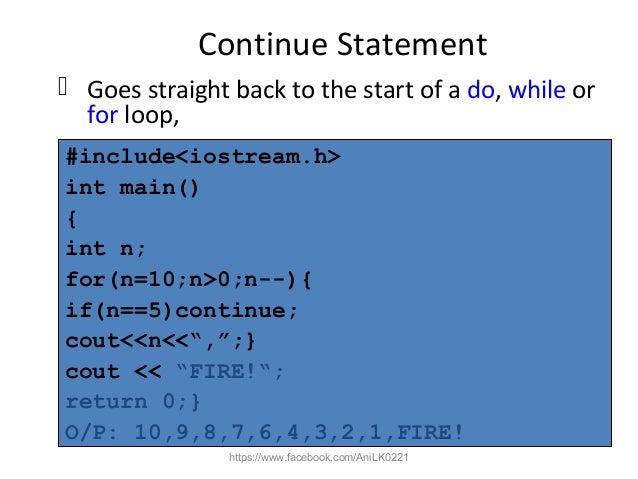 control structures in c++ pdf