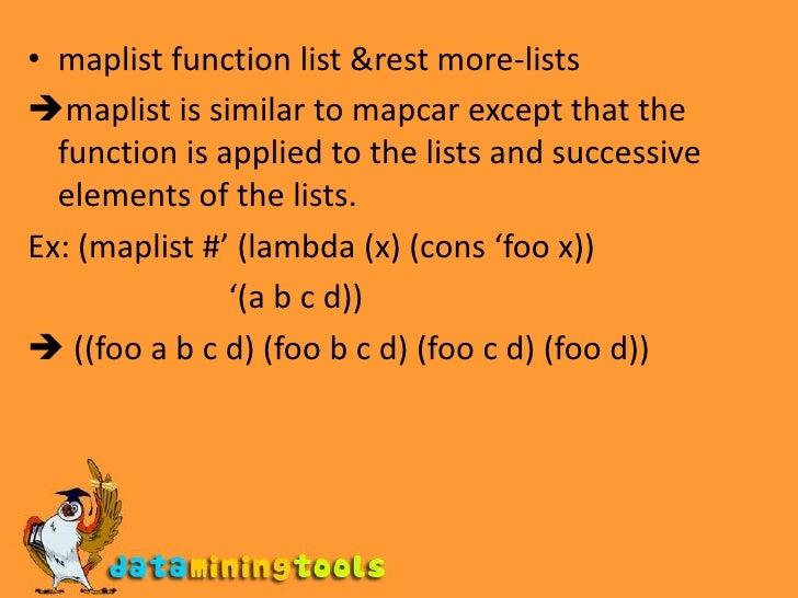 LISP:Control Structures In Lisp