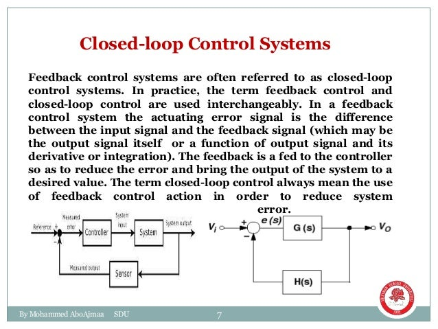 block diagram for control systems rh slideshare net block diagram of closed loop automatic control system block diagram of open and closed loop control system