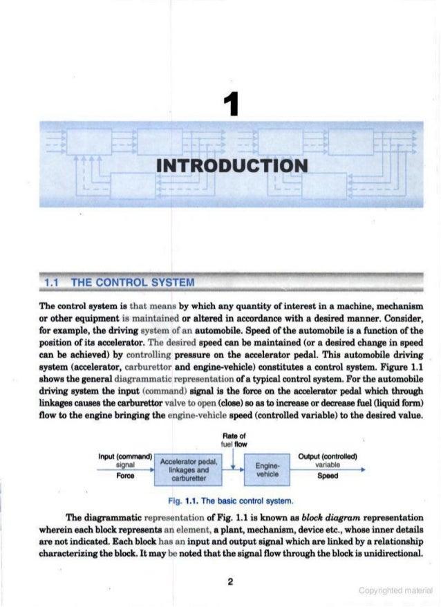 Control System By Ij Nagrath And M Gopal Pdf