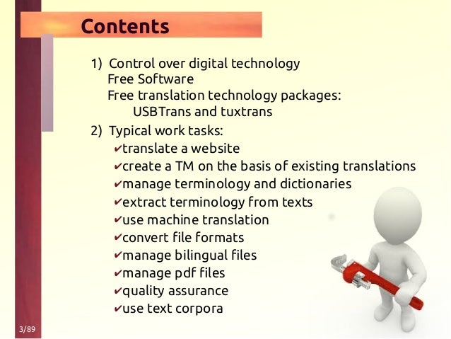 Control over digital technology with foss-tools Slide 3