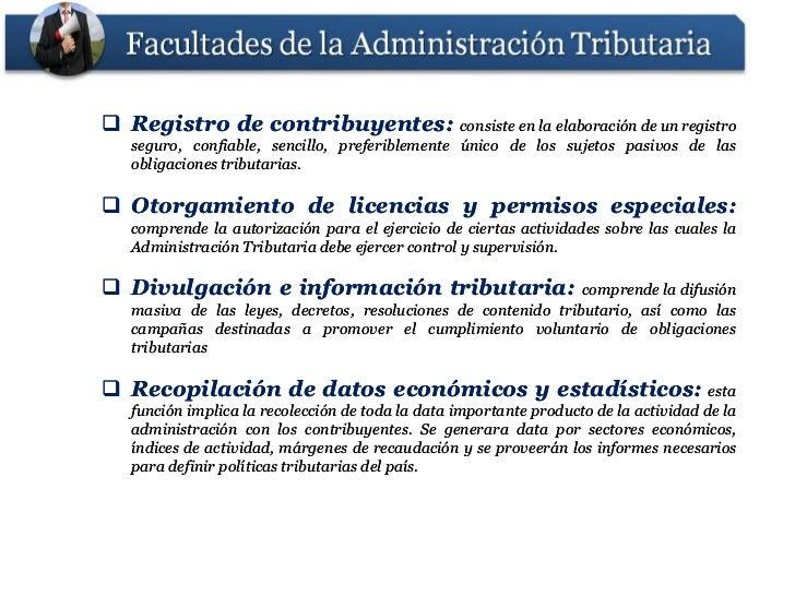  Registro de contribuyentes: consiste en la elaboración de un registro              contribuyentes:   seguro, confiable, ...