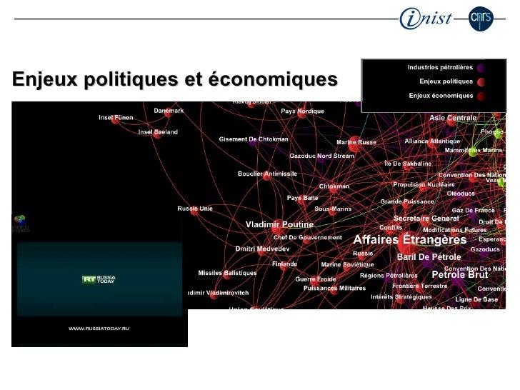 Enjeux politiques et économiques