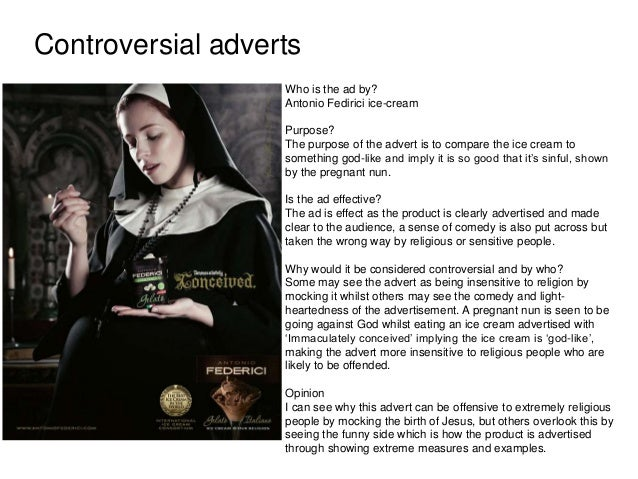 controversial advertising topics